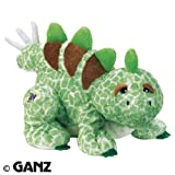 Webkinz Stegosaurus with Trading Cards