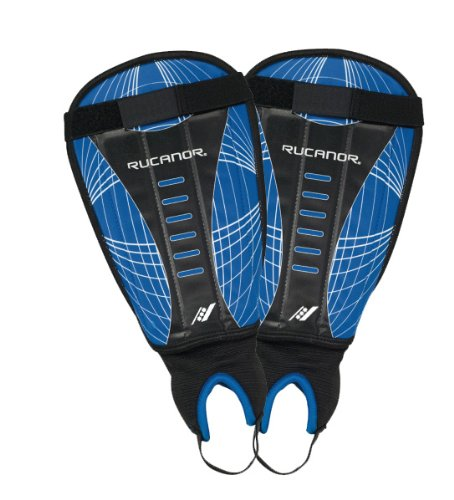 Rucanor Free Kick IV Shin Pad - Blue/Black/White,