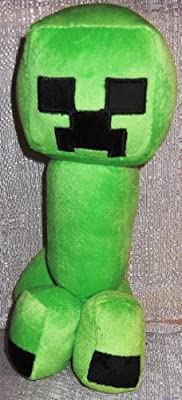 Minecraft Creeper 11 12 Inches Tall Plush Toy