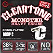 Cleartone Electric 9470 HEAVY MONSTER SERIES Nickel Plated Steel, Drop C