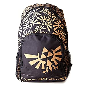 Nintendo - Gold Zelda Logo Backpack