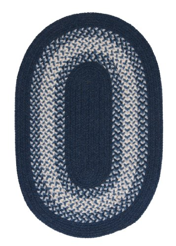 North Ridge Rug, 2 by 6-Feet, Navy