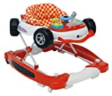 United Kids 902006 Baby Walker Car mit Wippfunktion plus musik, rot