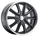 Boss Motorsports (Series 336) Hyper Gray - 20 x 8.5 Inch Wheel