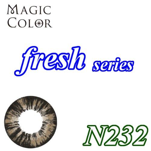 MAGICCOLOR (マジックカラー) fresh N232 度なし 14.5mm 1ヵ月使用 2枚入り