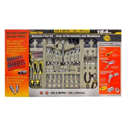 Trades Pro Mechanics Tool Set, 164-Piece (837364) (Trades Pro Tools compare prices)