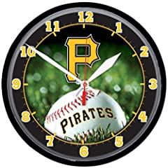 Pittsburgh Pirates Wall Clock by WinCraft