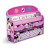 Delta Children Deluxe Book & Toy Organizer, Minnie