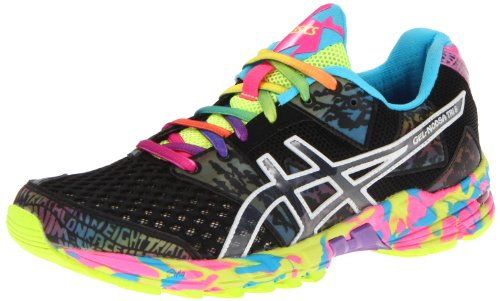 ASICS Women's GEL-Noosa Tri 8 Running Shoe,Black/Onyx/Confetti,7.5 M US