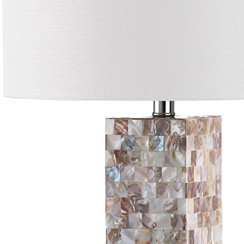 Safavieh Lighting Collection Jacoby Cream 28.9 Inch Table Lamp (Set Of 2)