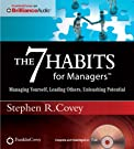 The 7 Habits for Managers: Managing...