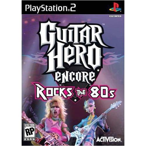Activision Inc.-Guitar Hero Encore: Rocks the 80's
