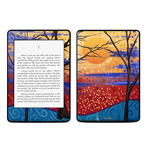 Sunset Moon Design Protective Decal Skin Sticker for Amazon Kindle Paperwhite eBook Reader (2-point Multi-touch) капри