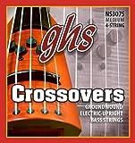 Ghs nS 3075 crossovers mod�le basse 4 cordes noir)
