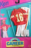 Barbie KEN Cool Career Fashions FOOTBALL STAR - Easy To Dress (1992 Arcotoys, Mattel)