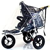 Baby Travel Universal Raincover for 3 Wheeler