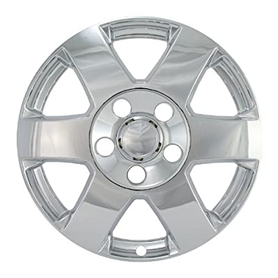"Bully Imposter IMP-322X, Jeep, 17"" Chrome Replica Wheel Cover, (Set of 4)"