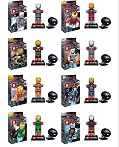 Avengers Superheroes Ironman #2 Building Blocks Bricks Assembly Toy Not Lego Fits Lego