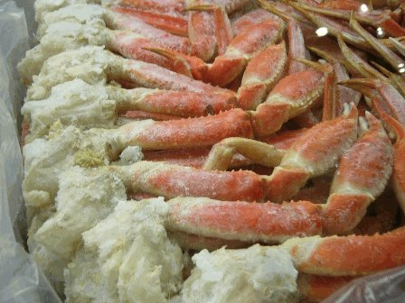 Canadian Wild Caught Snow Crab Clusters, 10 LB