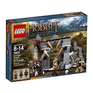 LEGO Lord of the Rings 79011 Dol Guldur Ambush Building Kit