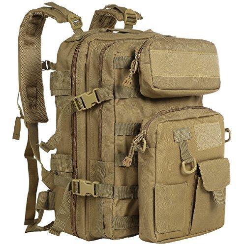 ZOMAKE 40L Military Tactical Backpack Molle Backpack Camping Bag Sport Outdoor Versatile Rucksacks