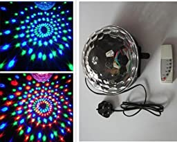 Zuwit New Arrival Club Disco Dj Party Ball Lights Music Mp3 Remote Control Colors Changing Effect Mini LED Stage Laser Lighting Spiders Web Net Lights