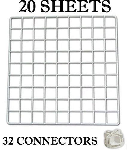 cc-build-your-own-cage-components-white-starter-kit-20-panels-32-connectors-