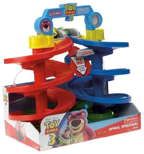 Fisher-Price Disney/Pixar Toy Story 3 Big Spiral Speedway | Vehicle Playset Toys
