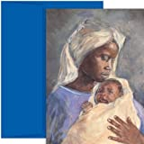 Mary & Jesus Religious Christmas Cards