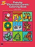 Popular Christmas Carols Coloring Book (Five-Finger Piano)