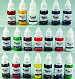 Iron Sakura Tattoo INK Pigment High Quality 20 Colors 15ml 1/2oz Each 20 inks