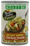 Health Valley Organic Chicken Noodle Soup, No Salt Added, 14.5-Ounce Cans (Pack of 12)