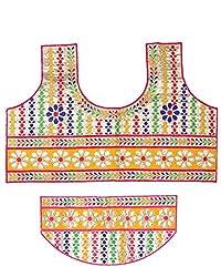 PurpleYou Women's Cotton Blouse (E5BLMC225, Multi Color)