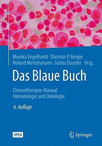 Das Blaue Buch: Chemotherapie-Manual Hämatologie Und Onkologie (German Edition)