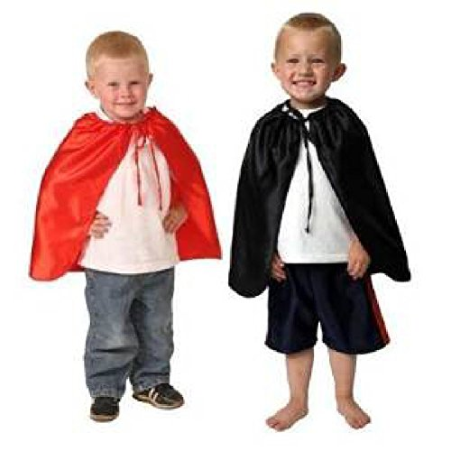 Superhero Dressup Birthday Party Red & Black Halloween Costume Capes Lot 4