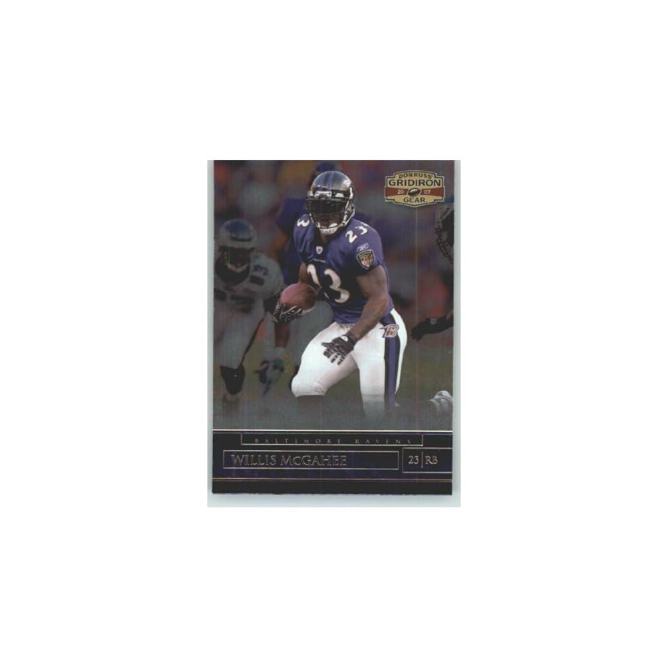 Donruss Gridiron Gear #64 Willis McGahee   Baltimore Ravens (Football