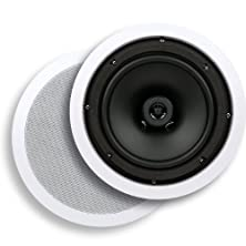 buy Micca C-8C 8-Inch Core Series In-Ceiling Speaker, White