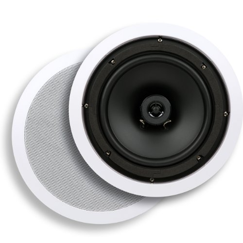 Micca C-8C 8-Inch Core Series In-Ceiling Speaker, White