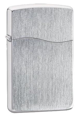 Zippo BLU2 镀铬金属拉丝 打火机