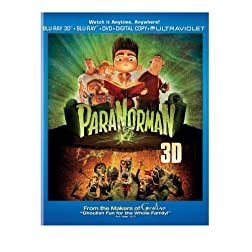 ParaNorman (Two-Disc Combo Pack: Blu-ray 3D + Blu-ray + DVD + Digital Copy + UltraViolet)