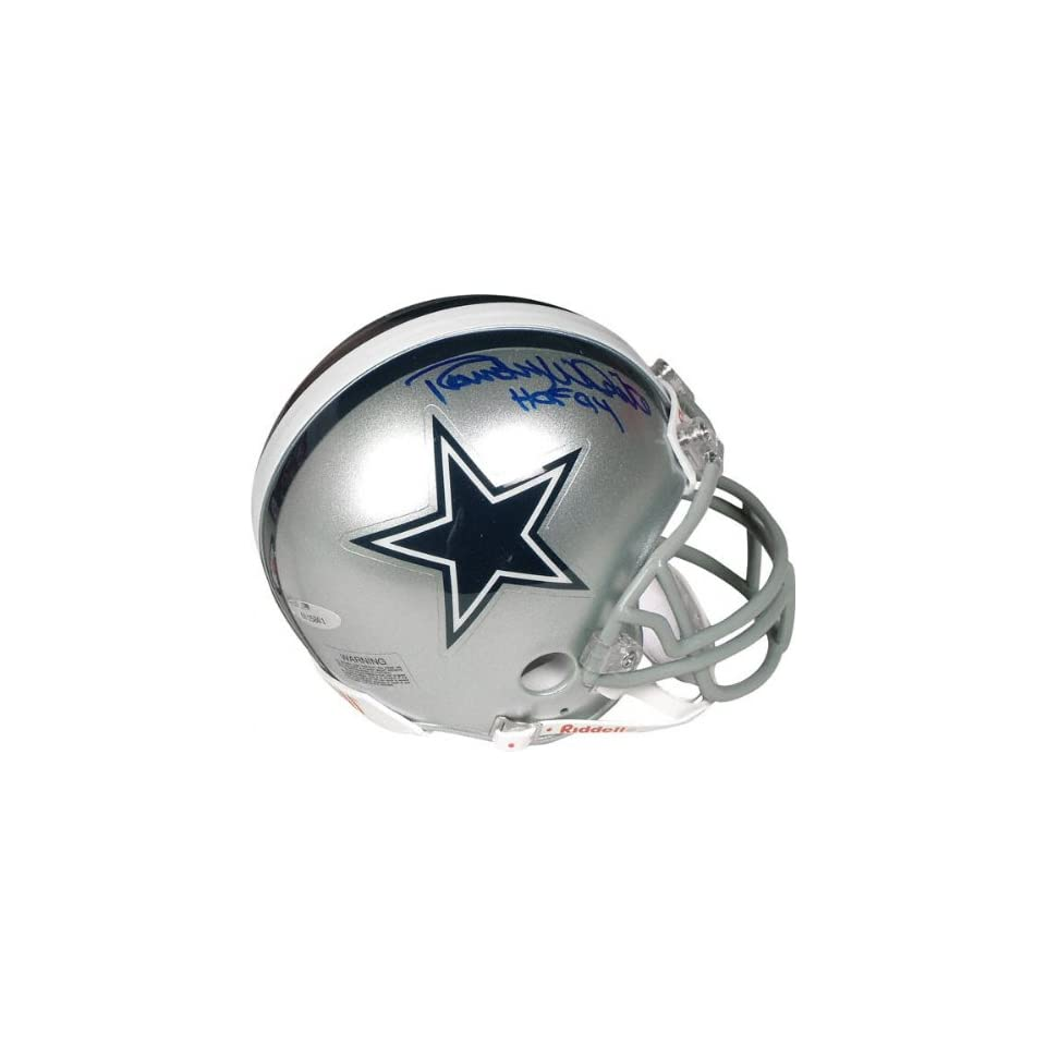 Randy White Dallas Cowboys Autographed Mini Helmet with