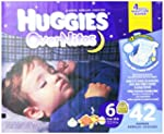 Huggies Overnites Diapers, Size 6, 42...
