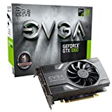 EVGA GeForce GTX 1060 GAMING, ACX 2.0 (Single Fan), 6GB GDDR5, DX12 OSD Support (PXOC), Only 6.8 Inches Graphics Card 06G-P4-6161-KR