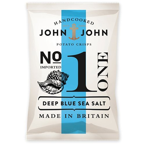 John &amp; John No. 1 - Deep Blue Sea Salt 40g