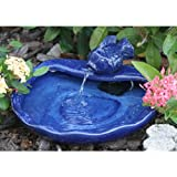 Ceramic Solar Koi Fountain - Smart Solar Fountains