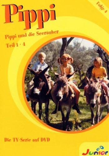 Pippi Langstrumpf - (4) Pippi und die Seeräuber Teil 1-4