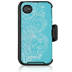OtterBox Defender Series Case for iPhone 4/4S - Retail Packaging - Studio Collection - Celestial
