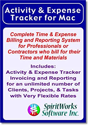 Activity & Expense Tracker for Mac [Download]