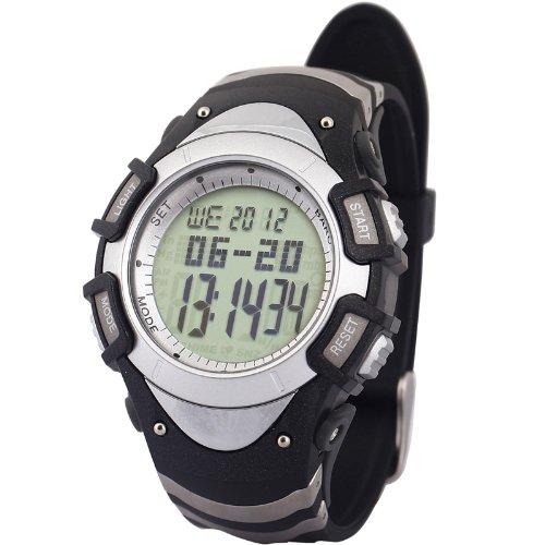 Generic Fashion Design Multifunctional Outdoor Mountaineering Waterproof Watch With Altimeter,Climb/Ski Speed Records,Barogram,Alarm Grey Dial