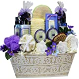 Art of Appreciation Gift Baskets Lavender Renewal Spa Bath...
